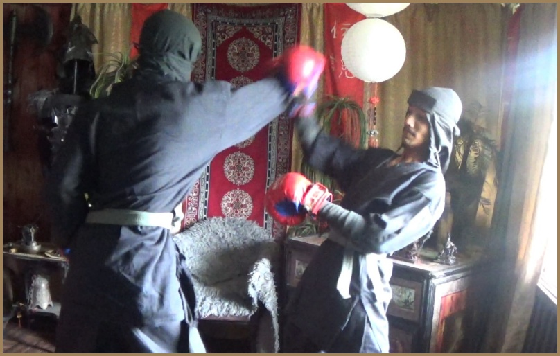 ninja training for teens and young people