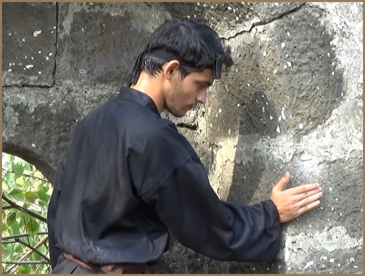 hand conditioning of the shotei or palm heel