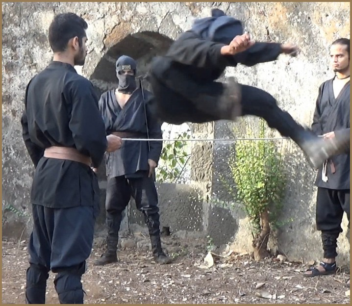 Can parkour training help ninjutsu combat training and help one to become a better ninja