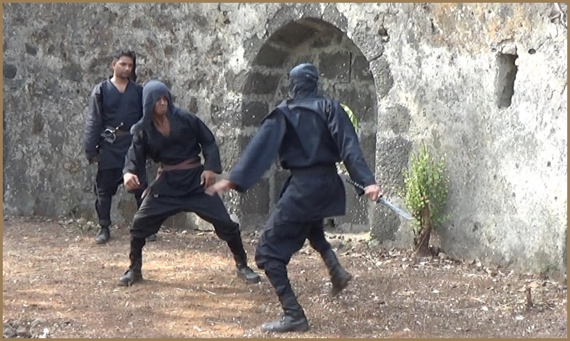 ninjutsu training to counter an enemy's fighting style